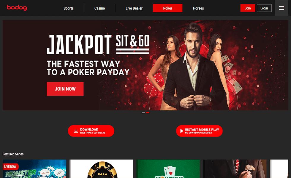 Site de Poker Bodog Poker