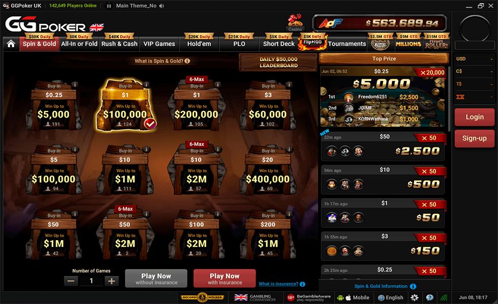 Sito di poker  GGpoker