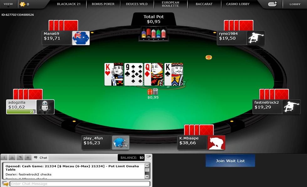 Sito di poker  Intertops Poker