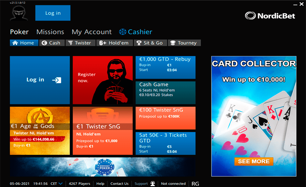 Poker Site NordicBet Poker