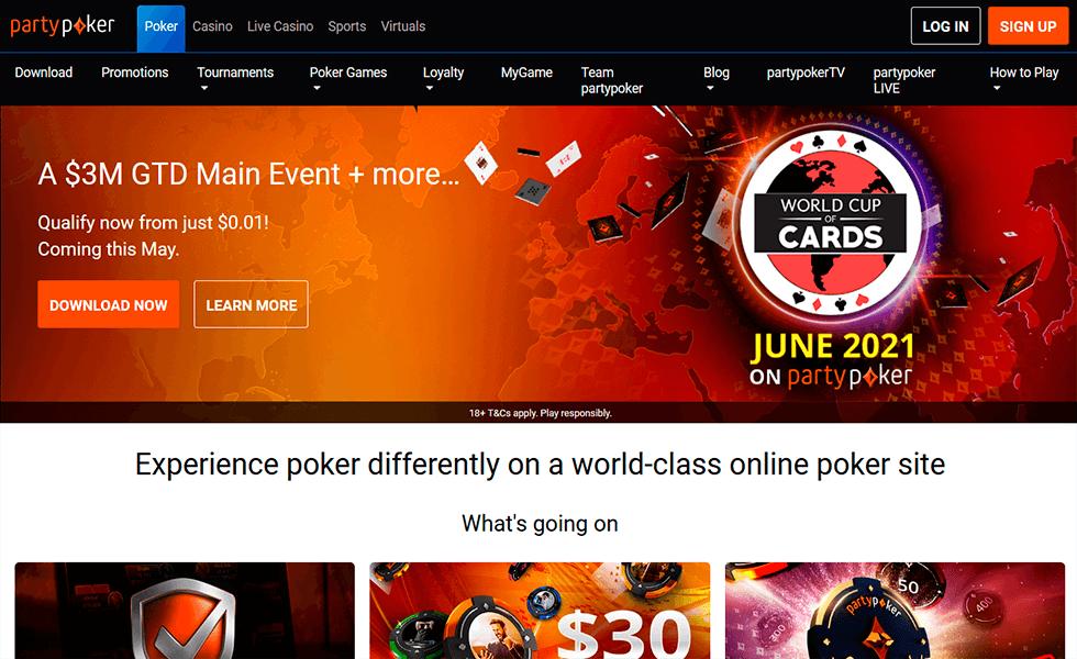 Pokerseite PartyPoker