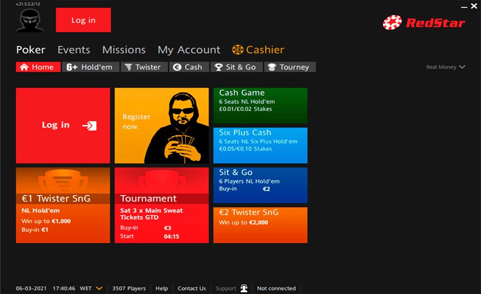 Site de poker RedStar Poker