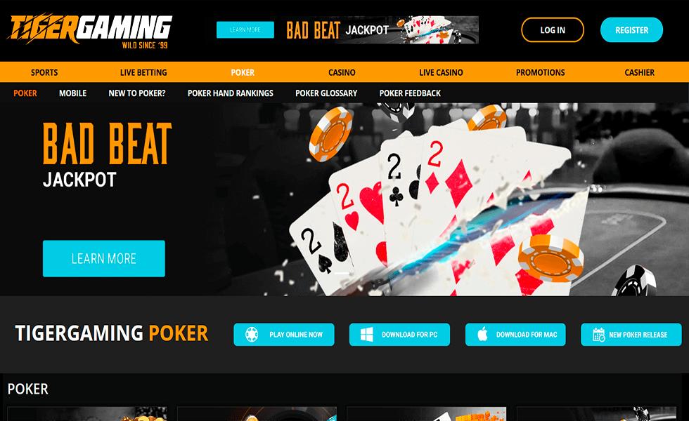 Site de Poker TigerGaming