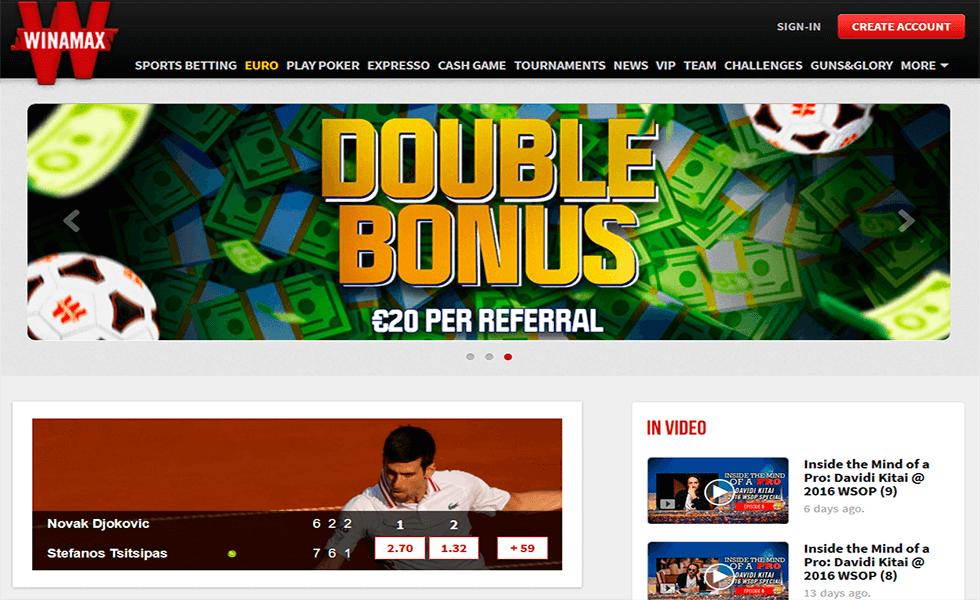 Site de Poker Winamax Poker