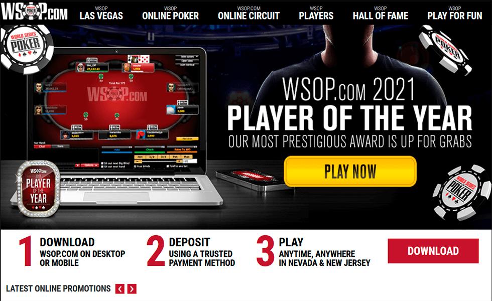 Site de Poker WSOP.com