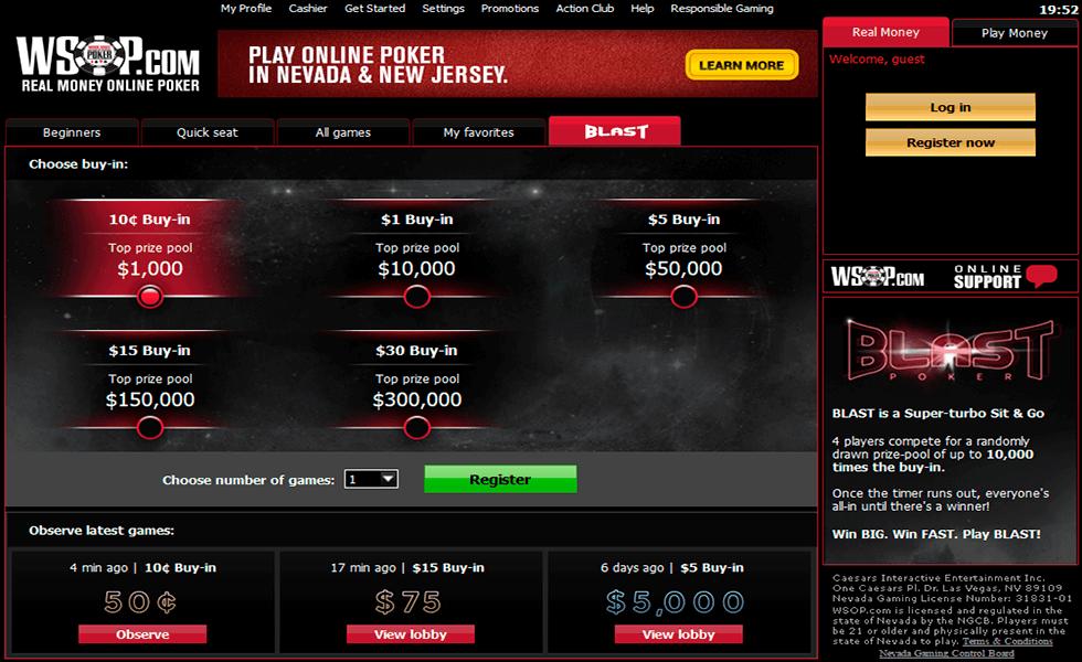 Poker Site WSOP.com